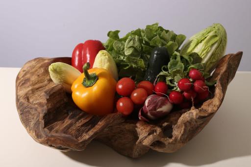 Salate und Gemüse